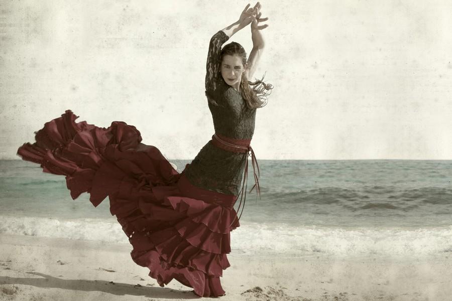 Flamenco-dansare
