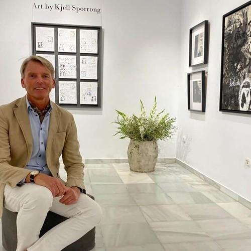 Artist Kjell Sporrong