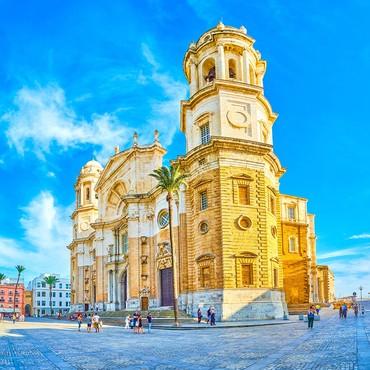 Katedralen i Cadiz, Spanien