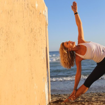Marbella – Yoga on the beach