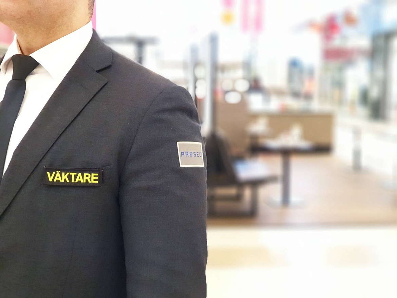Väktare på Presec Security - säkerhetsföretag