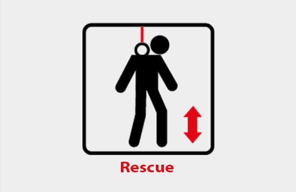 Fallskyddsguide Räddningssystem