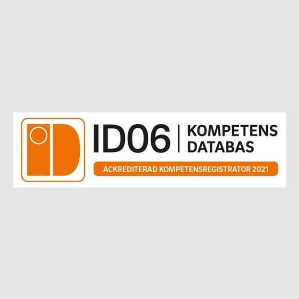 ID06 KOMPETENSDATABAS-auktoriserade