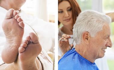 Egen frisör och medicinsk fotvårdare