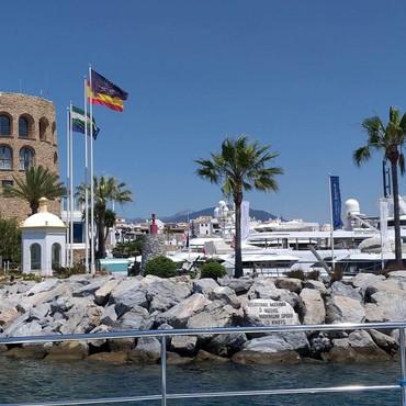Puerto Banús, Marbella, Spanien