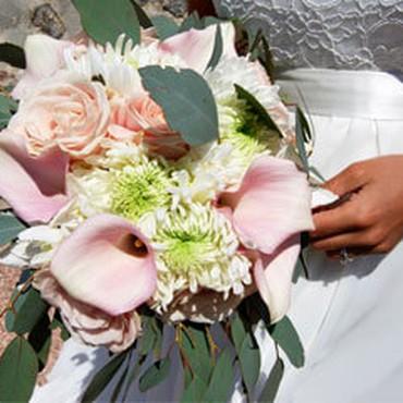 Bröllop i Spanien – brudbukett