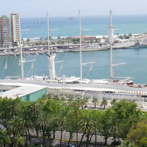 Utsikt Málaga