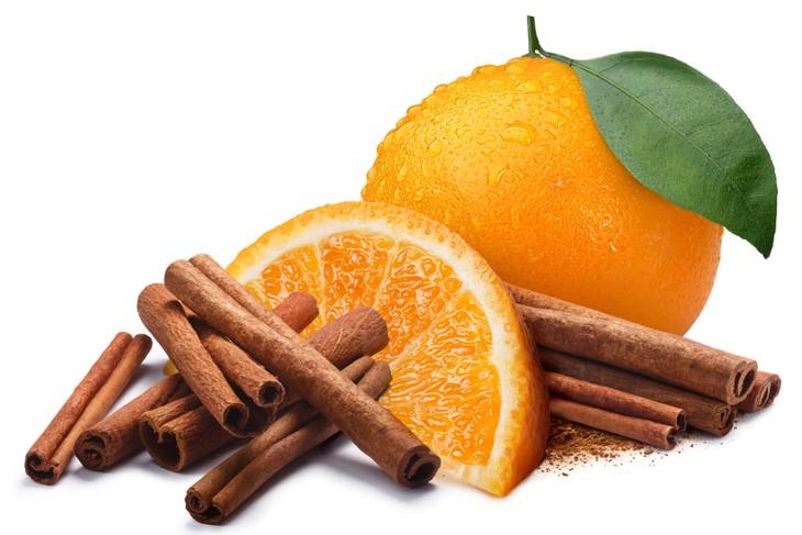 Apelsiner med kanel