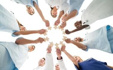 Vi som jobbar på Hierta Vårdcentral är ett sammansvetsat gäng