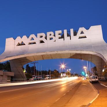 Marbella, Costa del Sol, Spanien